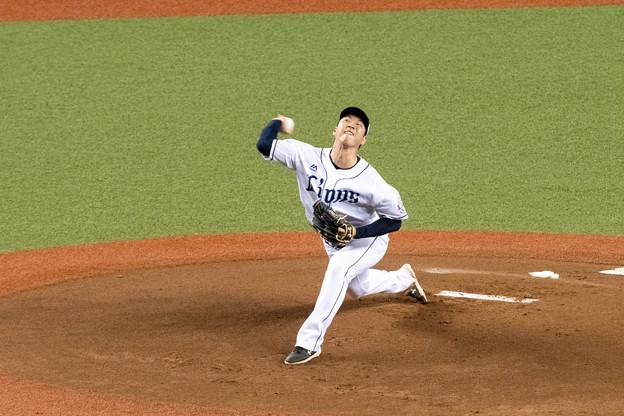 20191011 十亀剣投手@メットライフドーム。