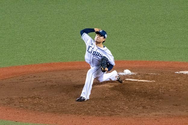 20191011 松本航投手@メットライフドーム。
