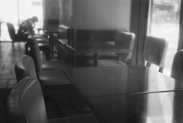 喫茶店の風景(TULLY'S)