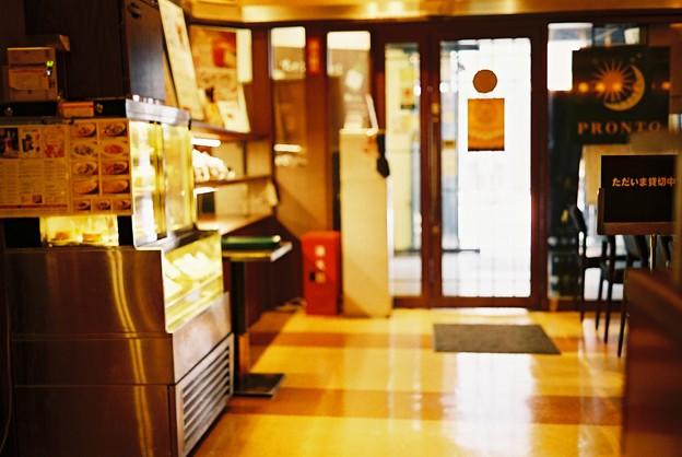 喫茶店の風景(PRONTO)