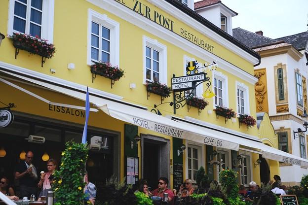 ランチの時間-Melk, Austria