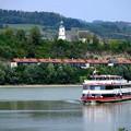 ドナウ川のクルーズへ-Donau, Austria