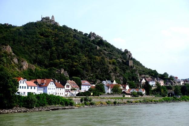 クルーズ船を途中下船-Dürnstein, Austria