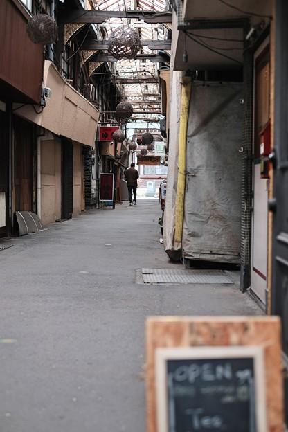 日本最古のアーケード-大分県別府市:竹瓦小路