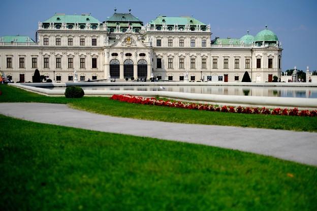 美しき宮殿へ-Wien, Austriar