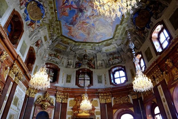 宮殿の中へ-Wien, Austria