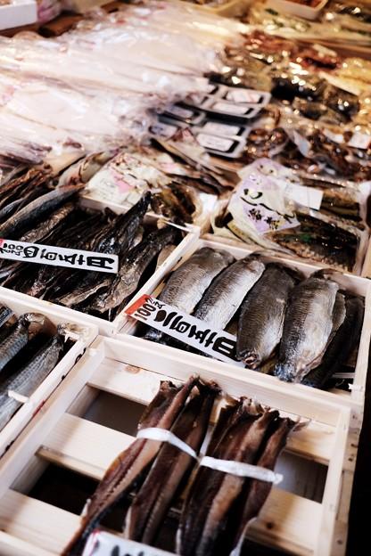 北前船がもたらした物-京都市中京区:錦市場