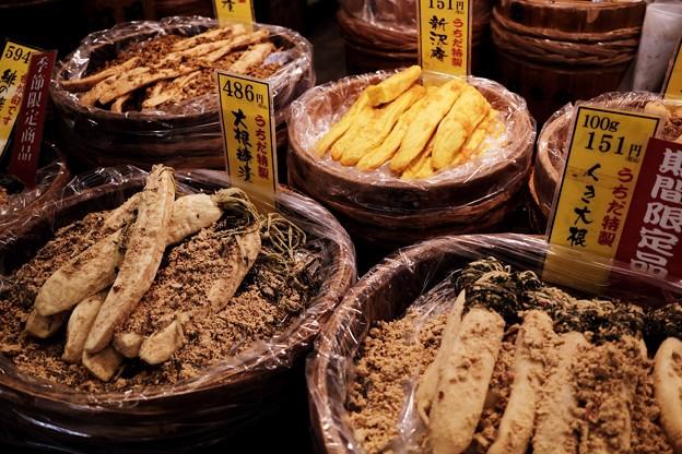 京漬物-京都市中京区:錦市場