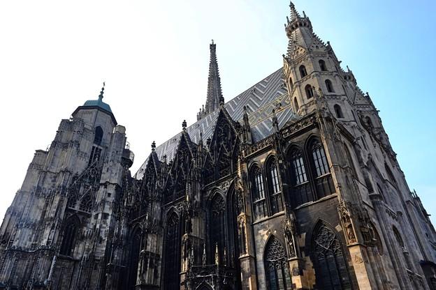 ウィーンの中心部へ-Wien, Austria