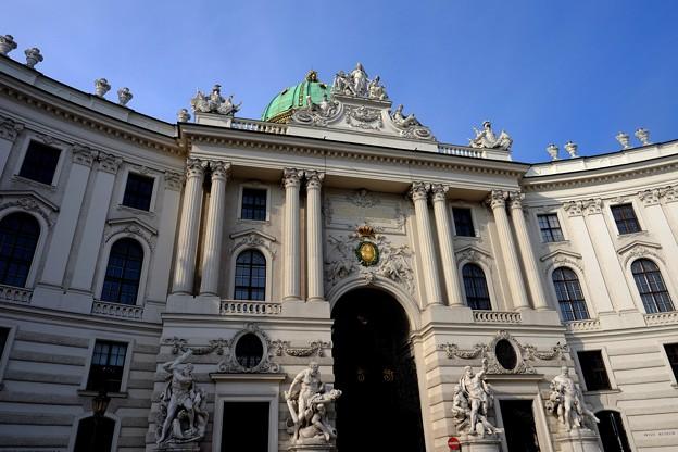 王宮へ-Wien, Austria