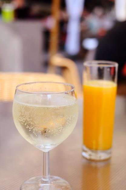 オープンカフェにて-Wien, Austria