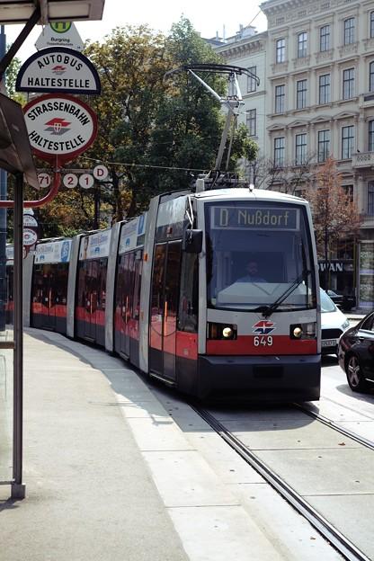 トラムに乗って-Wien, Austria