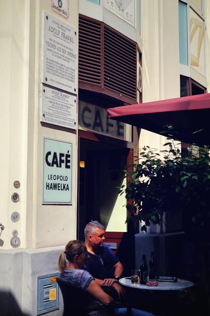 老舗のカフェで過ごす時間-Wien, Austria