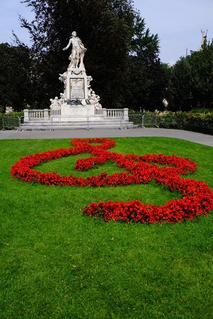 赤いト音記号-Wien, Austria