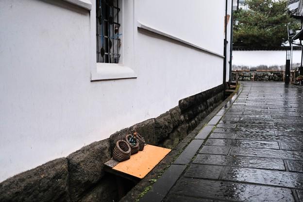 冬の雨-大分県竹田市
