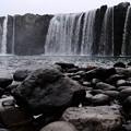 東洋のナイアガラ-大分県豊後大野市:原尻の滝