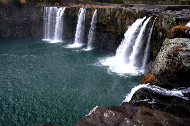 宮崎に向かう道中-大分県豊後大野市:原尻の滝