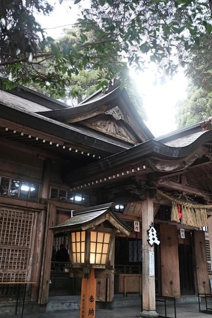 神話のふるさと-宮崎県高千穂町:高千穂神社