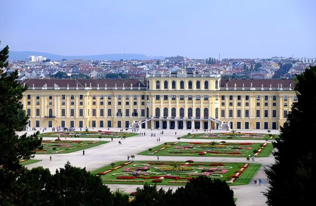 目線の変化-Wien, Austria