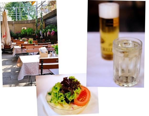 旅の最後の夕食-Wien, Austria