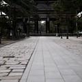 Photos: 人がいない-奈良県奈良市:東大寺南大門