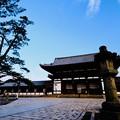 Photos: 青空-奈良県奈良市:東大寺大仏殿