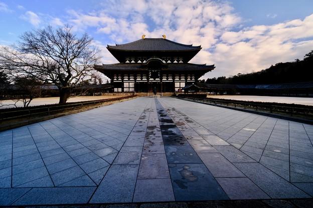 二度と撮れないこの光景-奈良県奈良市:東大寺大仏殿