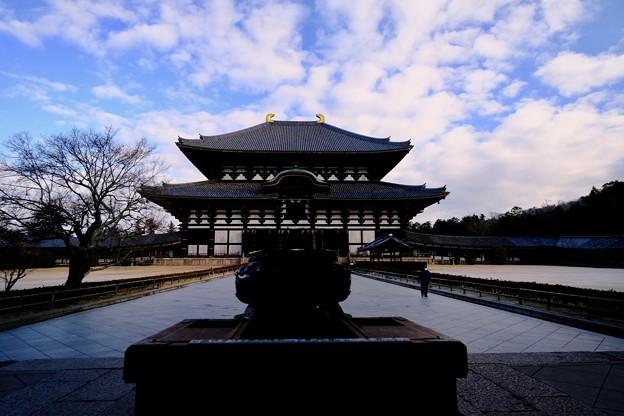 記憶の断片-奈良県奈良市:東大寺大仏殿