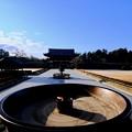 Photos: 大仏殿の前から-奈良県奈良市:東大寺大仏殿