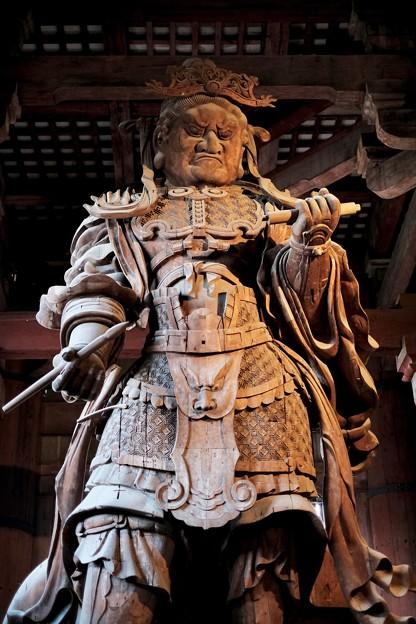 広目天立像-奈良県奈良市:東大寺大仏殿