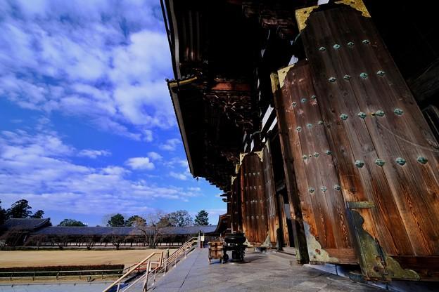 超広角レンズ-奈良県奈良市:東大寺大仏殿