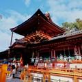 朱塗りの社殿-奈良県奈良市:春日大社