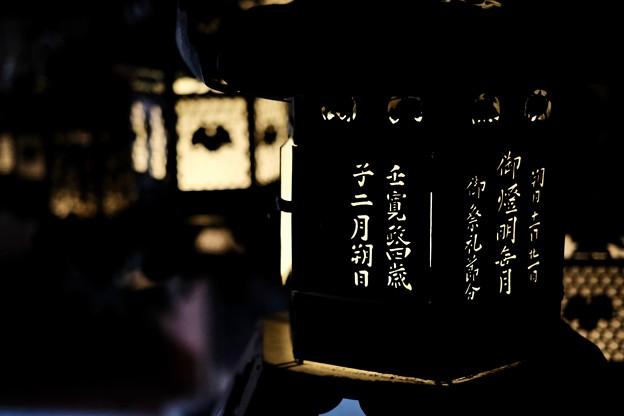 万燈籠を再現-奈良県奈良市:春日大社