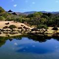 贅沢な借景-奈良県奈良市:依水園