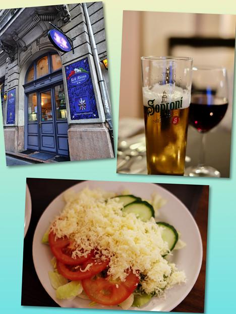 夕食の時間-Budapest, Hungary