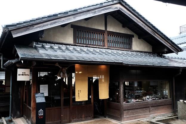 古民家風のカフェ-三重県伊勢市:「五十鈴川カフェ」