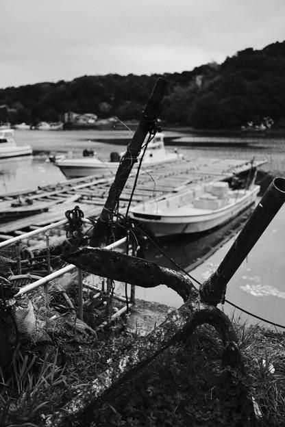 錆びた錨-三重県鳥羽市:浦村