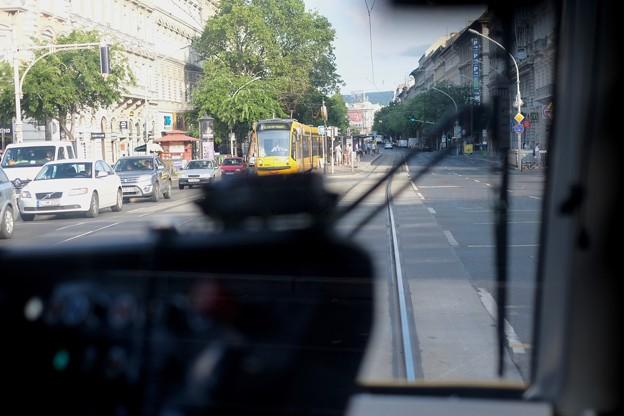 トラムに乗って-Budapest, Hungary