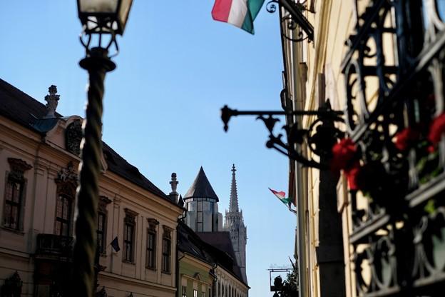 ブダペストの青空-Budapest, Hungary