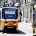 レトロなトラム-Budapest, Hungary