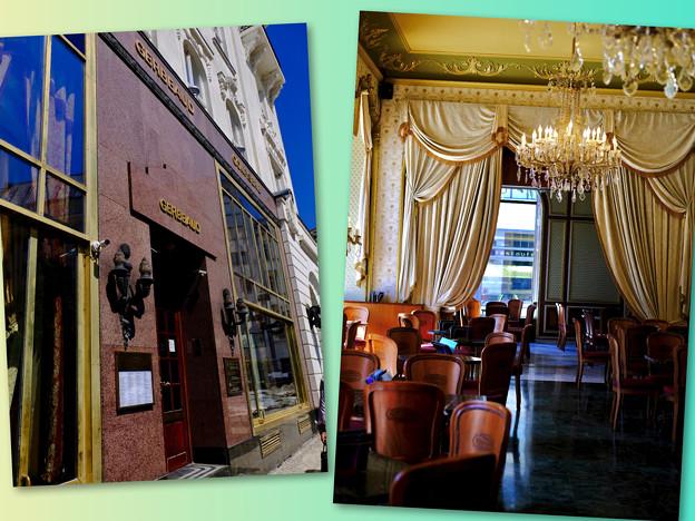 老舗のカフェ-Budapest, Hungary