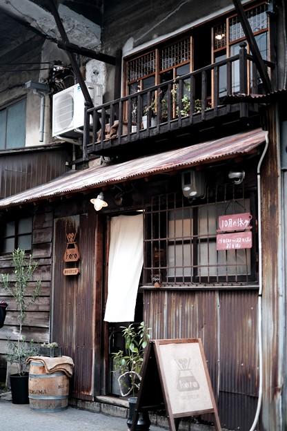 ガード下のコーヒーショップ-大阪市東住吉区:「karo 馥郁焙煎工房」