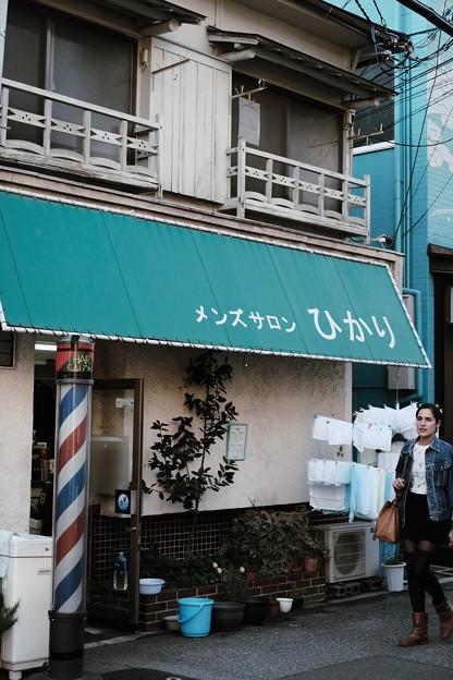 外国人観光客-大阪市浪速区:新世界