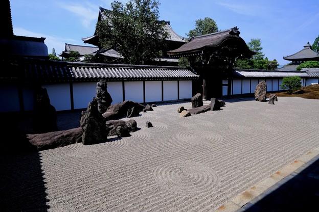 この庭に心惹かれて-京都市東山区:東福寺