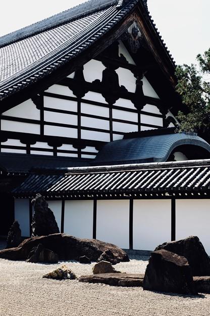 枯山水-京都市東山区:東福寺