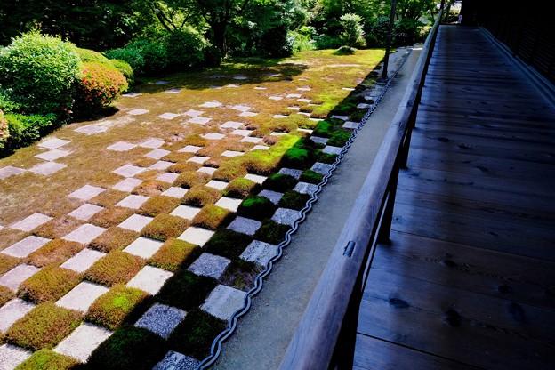 市松模様-京都市東山区:東福寺