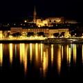 誰もいない河畔-Budapest, Hungary