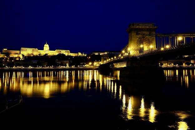 濃紺の空-Budapest, Hungary