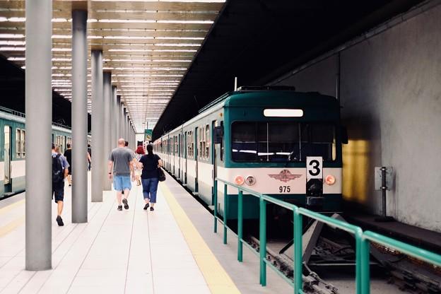 無骨な郊外電車-Budapest, Hungary