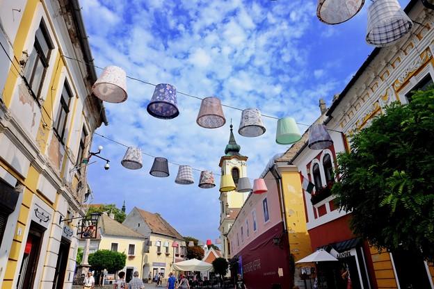 教会の尖塔-Szentendre, Hungary